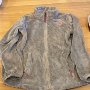 North Face Zip Up Soft